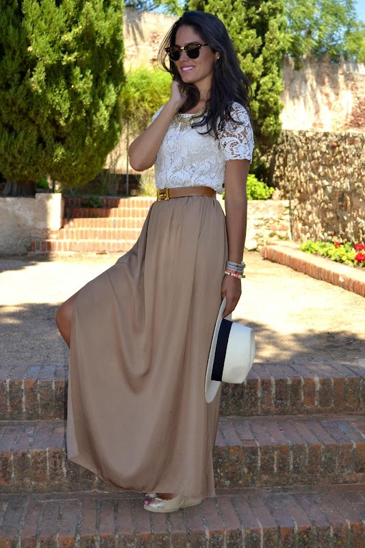 Ways to wear a maxi skirt thesassylife for Cute shirts for maxi skirts