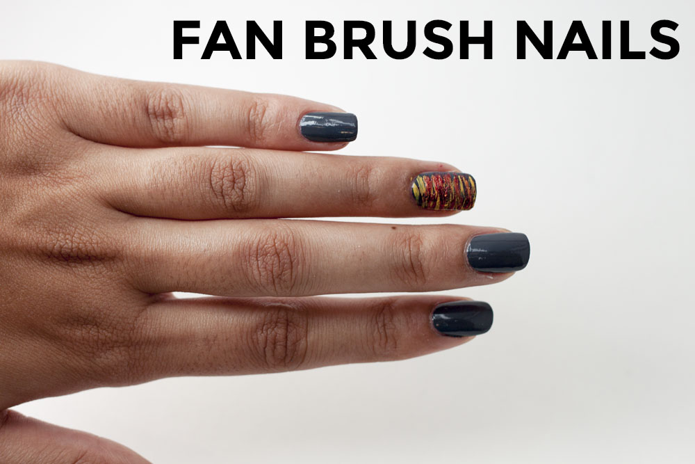 Fan Brush Nails – This Design