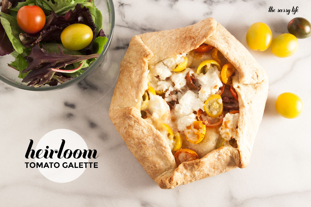 Heirloom Tomato Galette – thesassylife