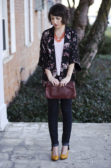 Ways to Wear a Kimono - thesassylife
