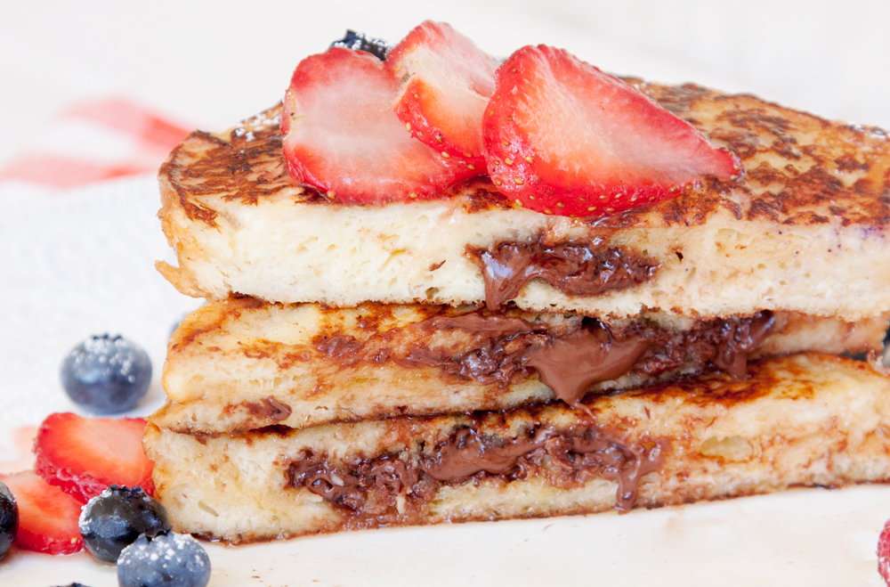 Nutella-Stuffed French Toast | thesassylife