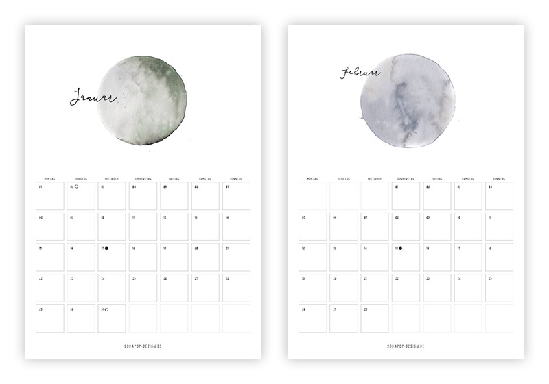 Calendar Typography Life : The best free printable calendars thesassylife